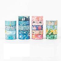 京都の装飾シリーズ マスキングテープ 和風 和柄 和紙テープ クラフトテープ 18個入り