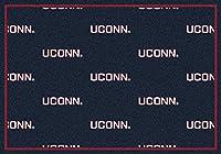 Connecticut Huskies NCAA College繰り返しチームエリアラグ