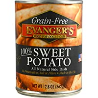 EVANGER'S Grain Free Sweet Potato, for Dogs and Cats, 13-Ounce, 12 Count by Evangers