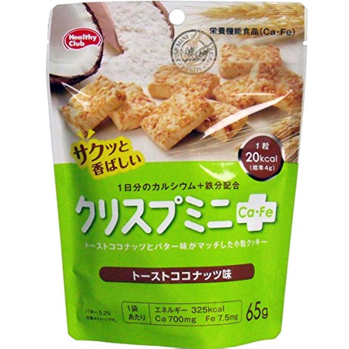 研究所ノイズオーストラリアクリスプミニCa?Fe トーストココナッツ味 65g