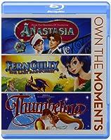 Anastasia/Ferngully/Thumbelina [Blu-ray] [Import]