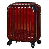 スーツケース 機内持ち込み 100席未満 コインロッカー 軽量 4輪 小型 中型 大型 1泊 2泊 3泊 4泊 5泊 6泊 7泊 8泊 9泊 10泊( s ワイン/BK )