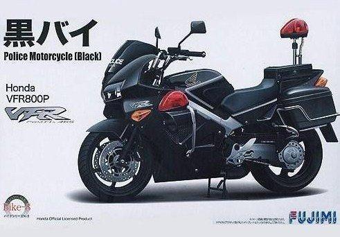 フジミ模型 1/12 バイクシリーズ No.8 Honda VFR800P 黒バイ 黒豹隊
