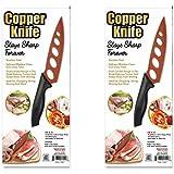 2 X Copper Knife Never Needs Sharpening Stay Sharp Forever