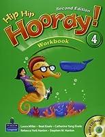 Hip Hip Hooray! (2E) Level 4 Workbook with CD