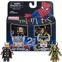 Marvel Minimates Series 33 Mini Figure 2Pack Thor & Loki