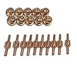 プラズマ切断機 用 消耗品 B セット (チップX10、電極棒X10)