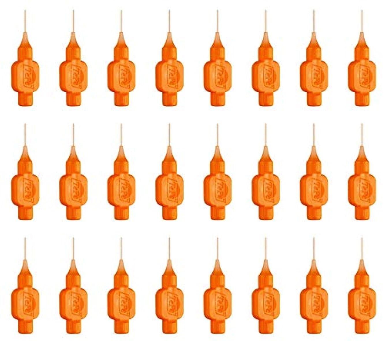 近似遮るなしでテペ 歯間ブラシ ID オレンジ 8本入 3袋 (0.45)
