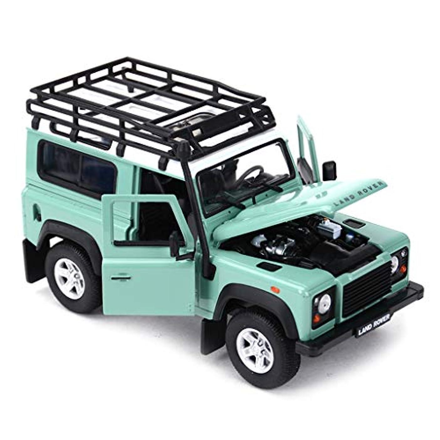 州合法アノイRENJUNカーモデルカー1:24ランドローバーシミュレーション合金ダイカスト玩具ジュエリースポーツカーコレクションジュエリー17×7.6×9.4センチカーモデル