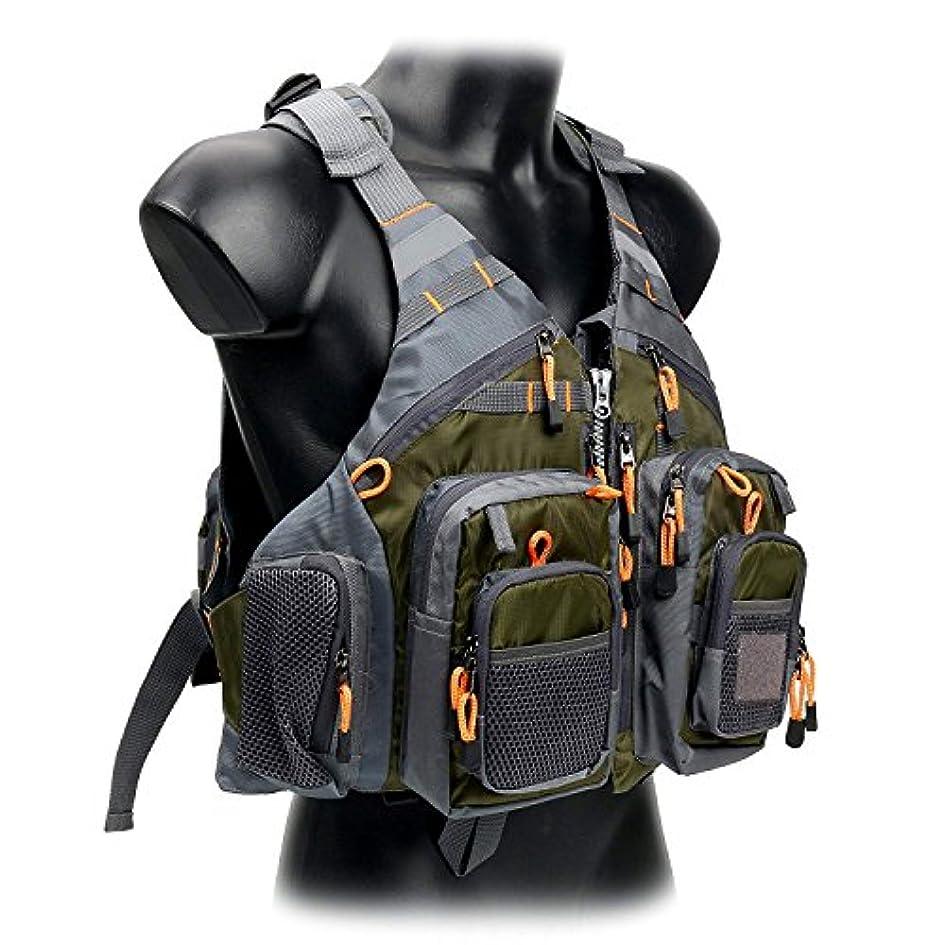 吸収誤解する置き場amarine-made Fly Fishing Vest Pack (釣りベスト/釣りスリングパック/釣りバックパック)