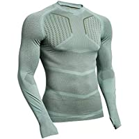 Compression Quick Dry t Shirt Men Running Sports T-Shirt Gym Fitness Tee Tops Male Bodybuilding Workout Skinny Long Sleeve Shirt