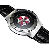 Happy New Year Gifts Wristwatchesレザーバンドusfse45超スリムレザーWatch / Resident Evil Umbrella Corporation