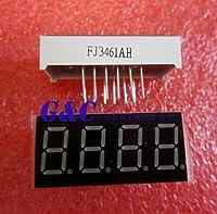 "ZhongKiYi(TM) 10個0.36""4桁のLEDディスプレイ7セグセグメントコモンカソードレッド良い品質"
