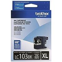 Brotherプリンタlc103bk高Yieldインクカートリッジ,ブラック( 3,ブラック)