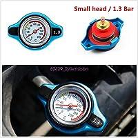 FidgetGear 本物の車のサーモスタットゲージラジエーターキャップ1.3バースモールヘッド水温計