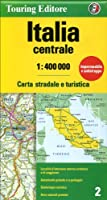 Italy Central: TCI.02 (Touring Club Italiano Road Maps)