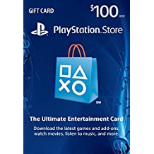 Playstation Network Store Gift Card $100 USD (輸入版:北米)