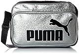 [プーマ] PUMA ショルダーバッグ TS Mat Type B Shoulder M 072404 21 (シルバー/プーマ ブラック)