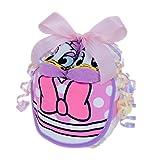 おむつケーキ ディズニー 女の子 1段 デイジー/ 人気 出産祝い ギフト セット 日本製 (パンパース Mサイズ)