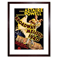 Movie Film Broadway Melody 1940 Astaire Dance Powell Framed Wall Art Print