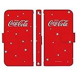 freetel XM 手帳型 ケース [デザイン:J.スター(赤)] Coca-Cola コカ・コーラ フリーテル スマホ カバー
