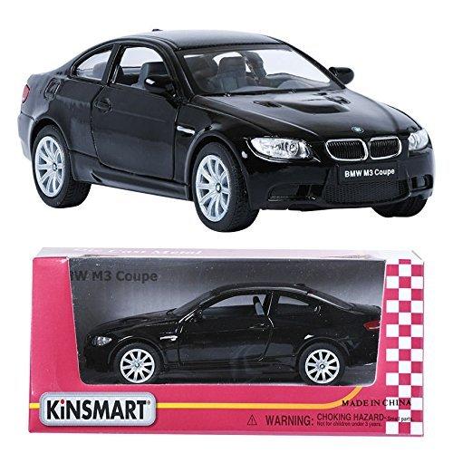 Kinsmart 1:36 BMW M3 Black ディスプレイミニ車ミニチュアカーのおもちゃ [並行輸入品]