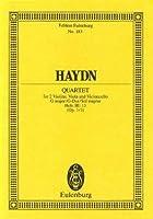 String Quartet in G Major Opus 3/3 Hob. III: 15