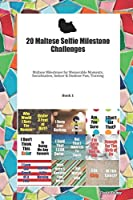 20 Maltese Selfie Milestone Challenges: Maltese Milestones for Memorable Moments, Socialization, Indoor & Outdoor Fun, Training Book 1