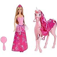 バービー人形Barbie Princess Doll and Regal Unicorn [並行輸入品]