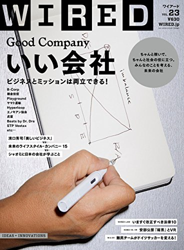 WIRED VOL.23/特集 GOOD COMPANY いい会社の詳細を見る