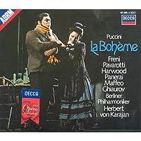 歌劇『ボエーム』全曲 カラヤン&ベルリン・フィル、パヴァロッティ、フレーニ(2CD)
