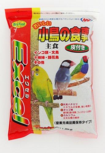 ナチュラルペットフーズ エクセル おいしい小鳥の食事 皮付き 1.8kg