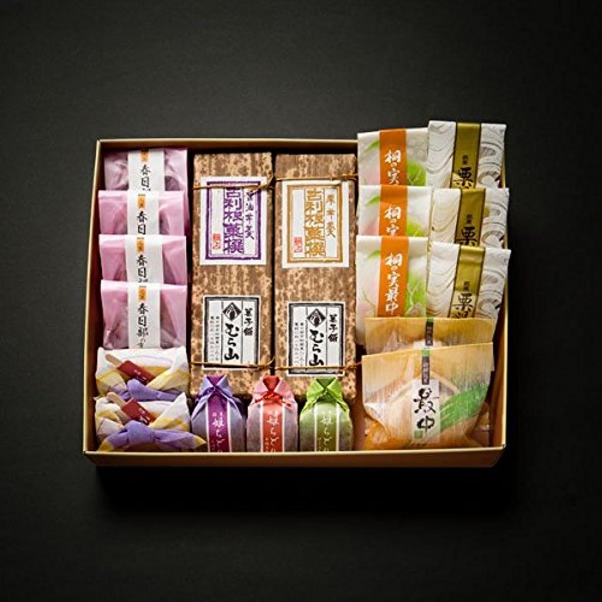 郵便用心深いモノグラフ銘菓「むらやま」 Amazonオリジナル 和菓子羊羹詰め合わせ