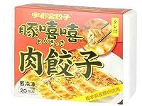クール便 フタバ食品 宇都宮餃子 とんきっき 肉餃子 20個入 x2