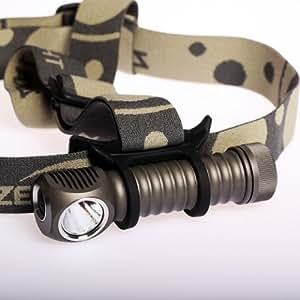 Zebralight ゼブラライト H600w Mk II 18650 XM-L2 Headlamp Neutral White :ニュートラル・ホワイトLED搭載