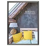 HAKUBA 額縁 メタルフォトフレーム SERENA 01(セレーナ 01) 2Lサイズ 1面 ブラック FSR01-BK2L1