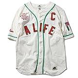 ALIFE エーライフ TEFLON DON JERSEY ベースボールシャツ WHITE WHITE L