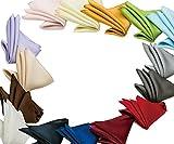 日本製 綾織 16匁 シルク 100% 使用の ポケットチーフ 無地 (No.7 CF-1-白(ホワイト))