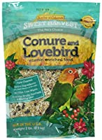 Kaylor Sweet Harverst Vitamin Enriched Conure and Lovebird Pet Bird Food 2lbs