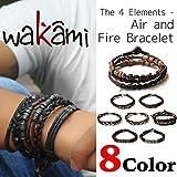 Wakami ワカミ ブレスレット The 4 Elements - Air and Fire Bracelet アンクレット メンズ レディース ペア ビーズ パーツ アクセサリ..