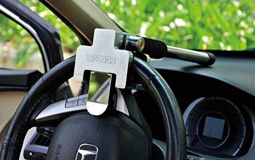 フリーソー(FREESOO)T型 ステアリングロック ハンドルロック カーセキュリティ 防犯グッズ、盗難防止 簡単設置 自動車 軽自動車 脱出用 汎用