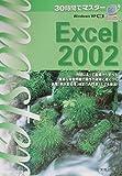 WindowsXP対応 30時間でマスター Excel2002 (30時間でマスターシリーズ)