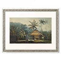 John Webber 「View in the Island of Crakatoa.」 額装アート作品