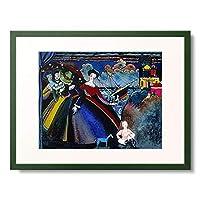 ワシリー・カンディンスキー Wassily Kandinsky Vassily Kandinsky 「Schiff. Um 1918.」 額装アート作品