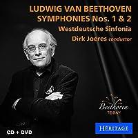 Ludwig Van Beethoven Symphonies Nos. 1 & 2 (CD+DVD)
