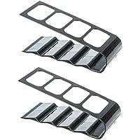 SONONIA 2個入り リモートコントロール用 ボックス 4格 リモコンラック アクリル製 家庭用 収納  ホルダー