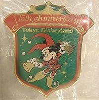 東京ディズニーランド 15th 15周年 記念ピンバッジ