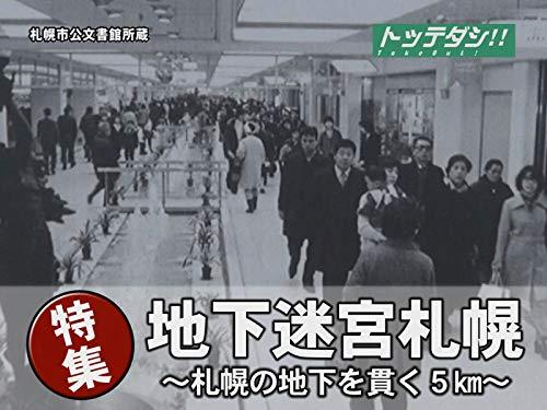 地下迷宮札幌 -札幌の地下を貫く5km-