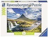 1000ピース ジグソーパズル  キルキュフェットル山と滝 Wasserfall vor Kirkjufell  (70 x 50 cm)