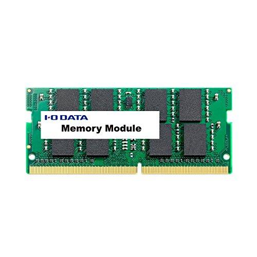 アイ・オー・データ PC4ー17000(DDR4ー2133)対応ノートPC用メモリー 8GB SDZ2133-8G 1個